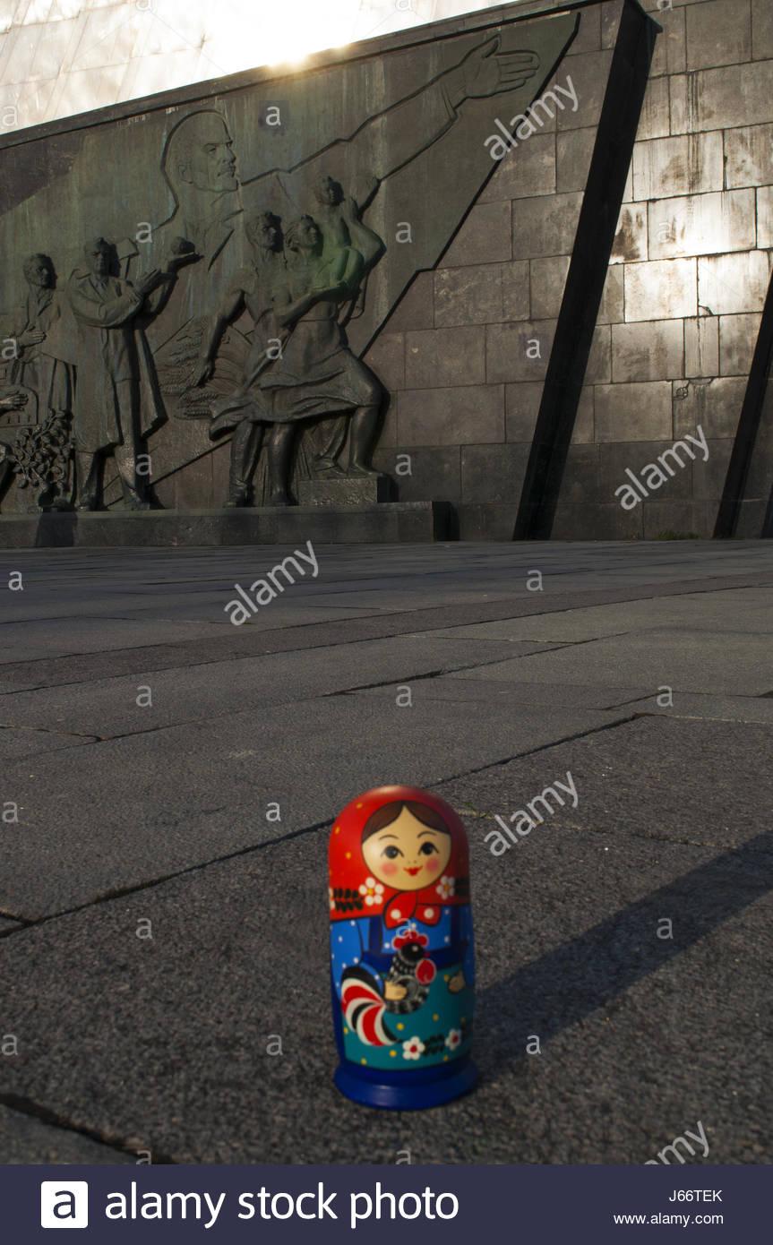 Moscou, Russie : Une Poupée Matriochka, Poupée Russe Connu serapportantà Nom Poupée Russe