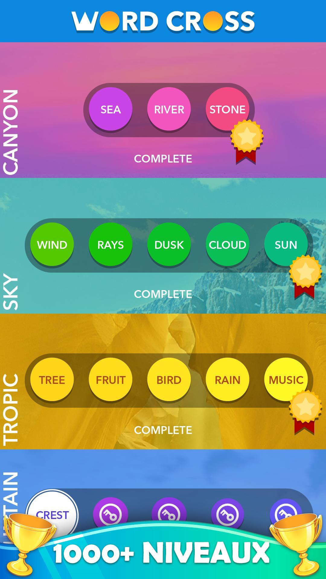 Mot Croix: Meilleurs Jeux De Mots Gratuits Pour Android intérieur Jeux Gratuit De Mots