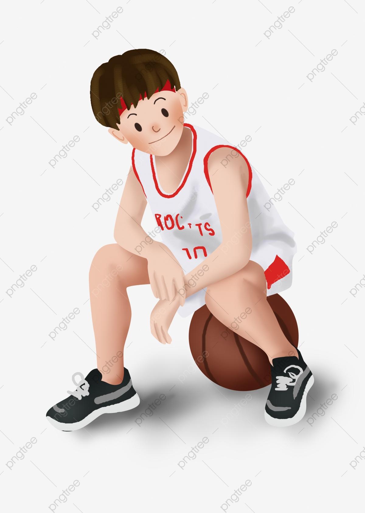 Motion Garçon Étudiant Jeux, Basket Ball, Match De Basket à Jeux Gratuit Garcon
