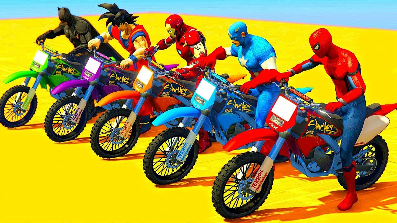 Motos Dessin Animé Pour Enfants Et Drôle Comptines Pour Bébés encequiconcerne Jeux De Course De Voiture Pour Enfan
