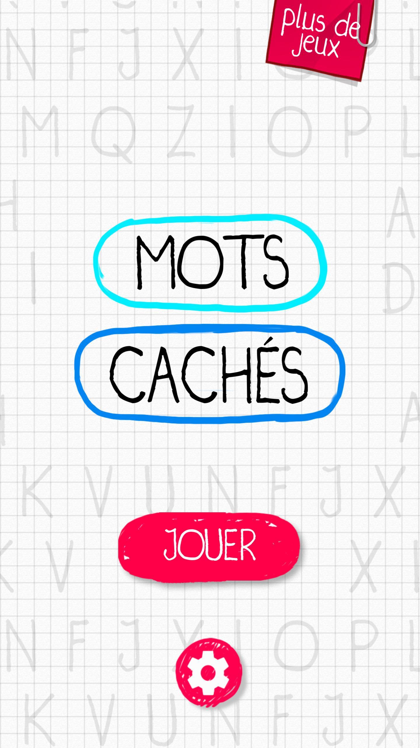 Mots Cachés Premium Pour Android - Téléchargez L'apk concernant Jeux Des Mots Cachés