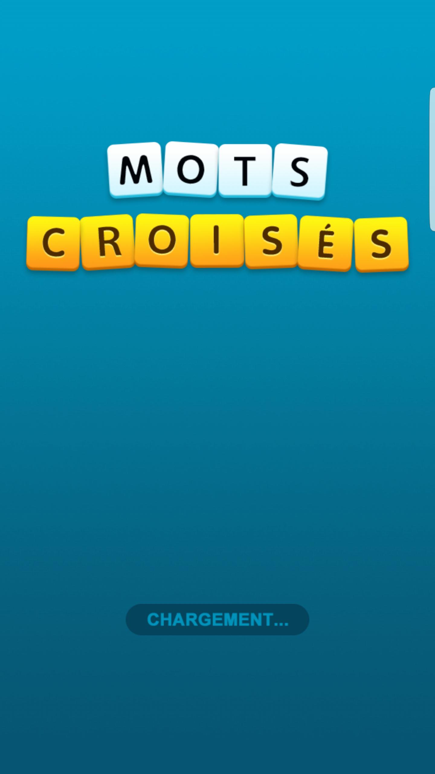 Mots Croisés Android 16/20 (Test, Photos) à Jeux Gratuit De Mots