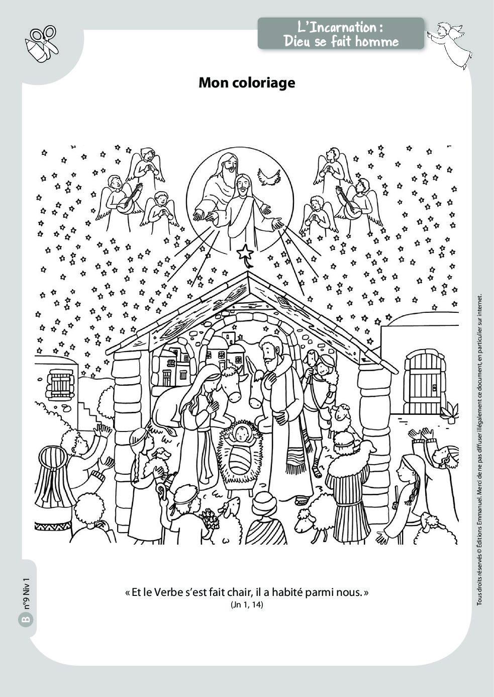 Mots Croisés De Noël - Catéchisme Emmanuel concernant Mots Croisés Noel
