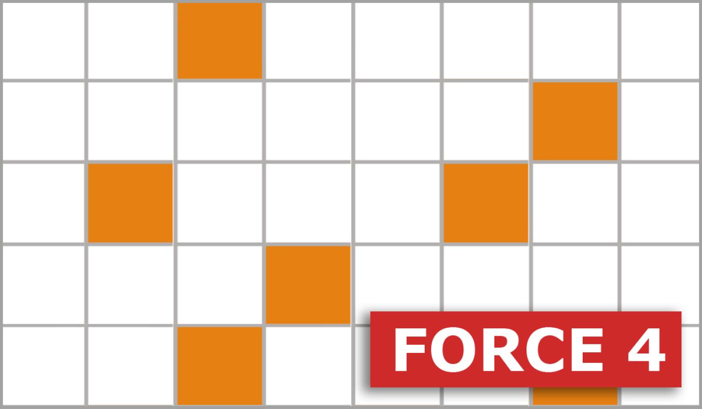Mots Croisés Gratuits - Force 4 - 18 Mars 2020 destiné Jeu De Mot Croisé