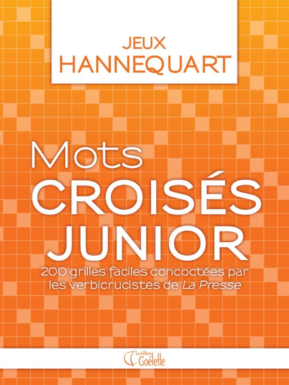 Mots Croisés Junior : 200 Grilles Faciles Par Étienne intérieur Mots Croisés Faciles À Imprimer Gratuitement