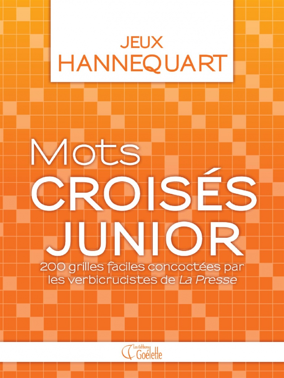 Mots Croisés Junior : 200 Grilles Faciles Par Étienne tout Mots Croisés Junior À Imprimer