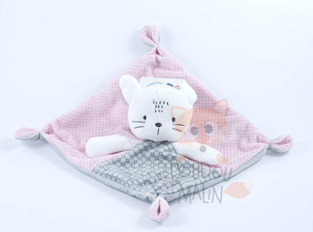 Mots D'enfants Mots D'enfants Baby Comforter Cat Pink à Mot Pour Enfant