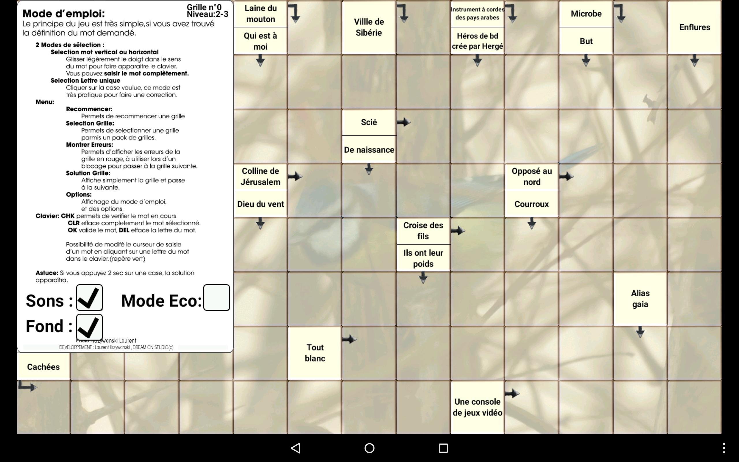 Mots Fléchés 2018 For Android - Apk Download serapportantà Mots Fleches Solution