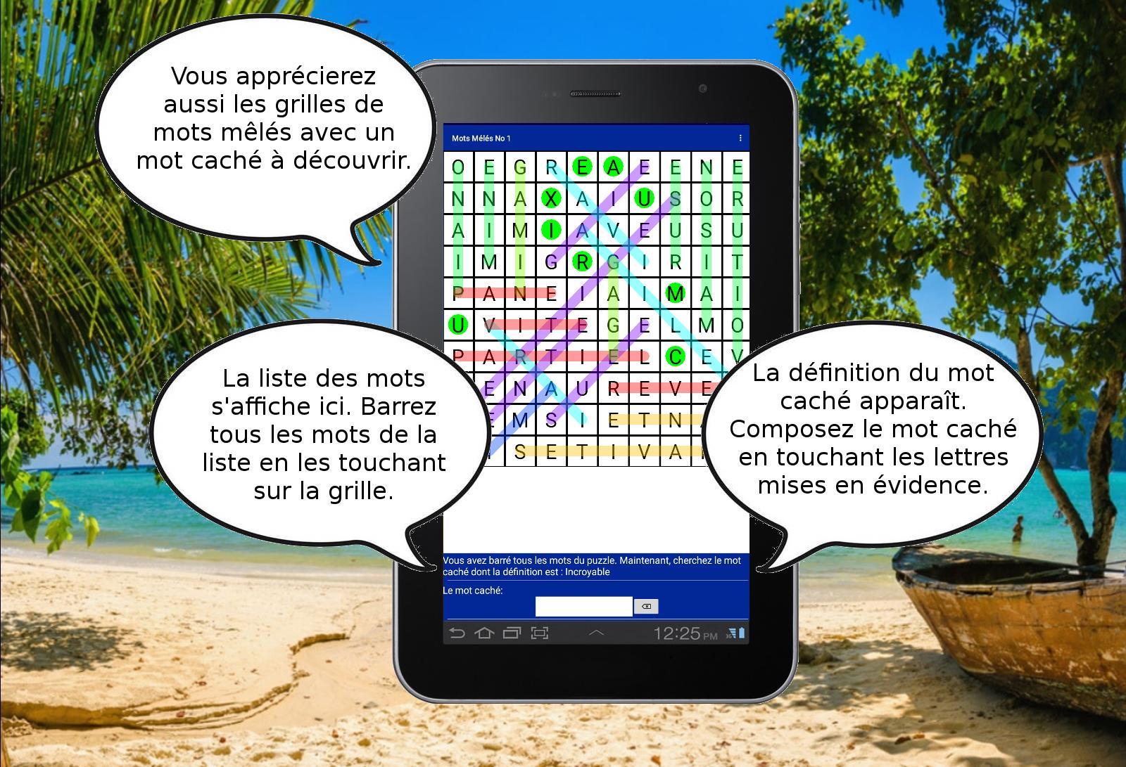 Mots Fléchés Croisés Mêlés Sudokus Gratuits For Android dedans Définition Des Mots Fléchés