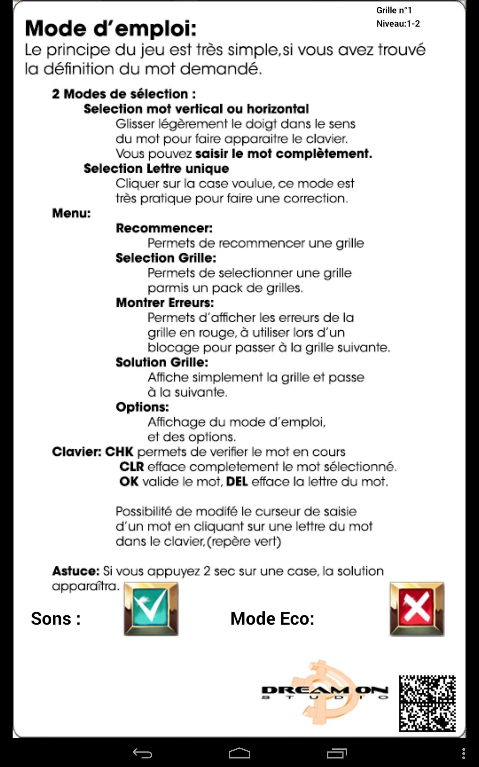 Mots Fleches For Android - Apk Download à Définition Des Mots Fléchés