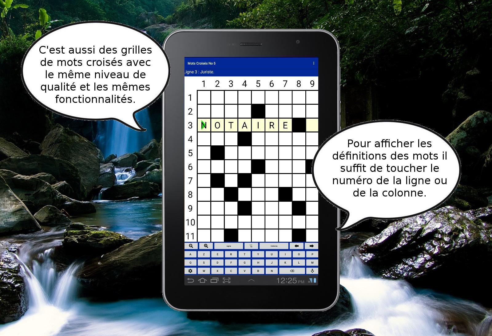 Mots Fléchés Gratuits For Android - Apk Download pour Mots Fléchés En Ligne