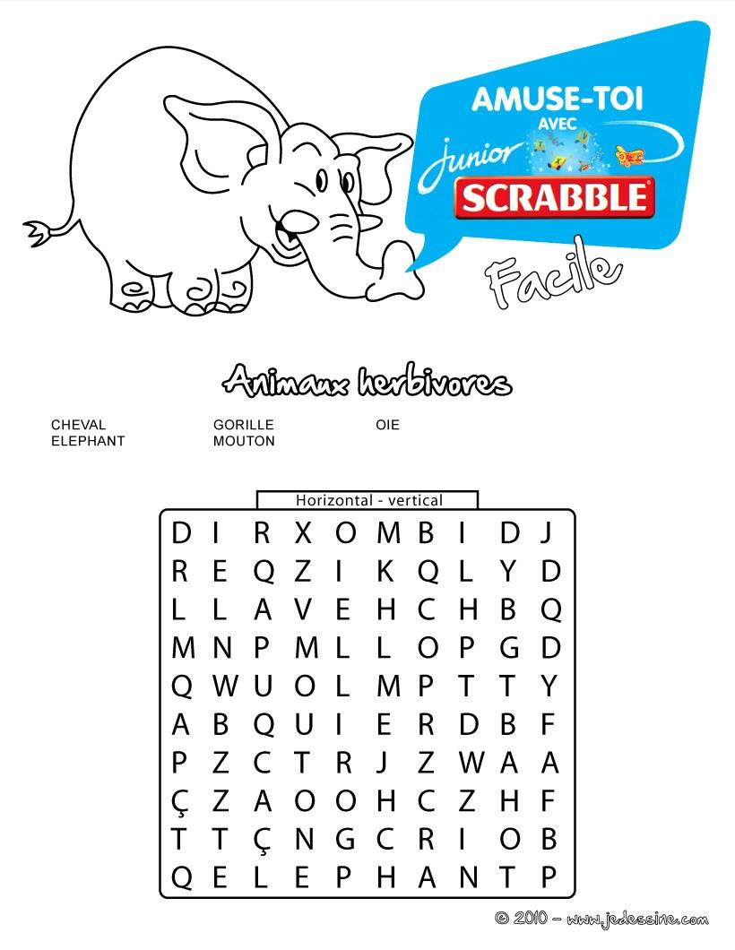 Mots Mêlés À Imprimer - Jeux Pour Enfants - Jeux De encequiconcerne Mots Fléchés Simples À Imprimer