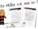 Mots Mêlés « Je Suis En Cp » | Bout De Gomme destiné Mots Mélés À Imprimer Cm1