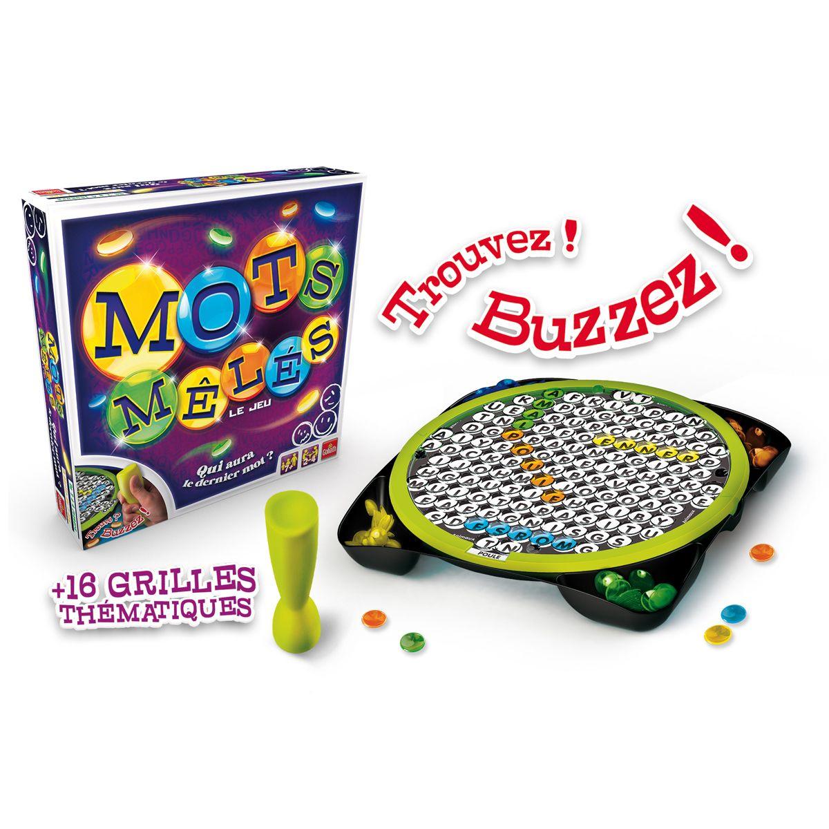 Mots Mélés - Jeux De Société Et Puzzles - La Grande Récré avec Jeux Mot Fleches