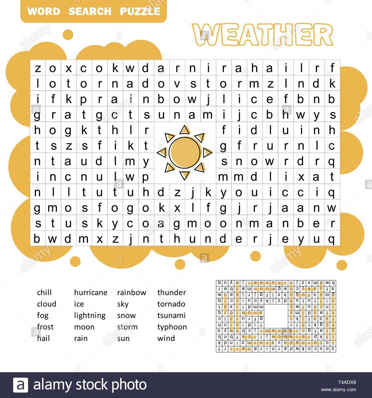 Mots Puzzle Jeu Éducatif Pour Enfants. Placez Les Lettres pour Jeux De Mots Pour Enfants