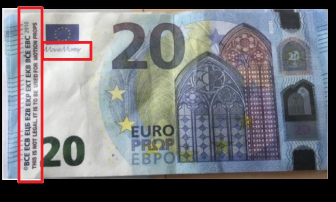 Movie Money »: Les Conseils De La Gendarmerie Pour intérieur Billet De 5 Euros À Imprimer