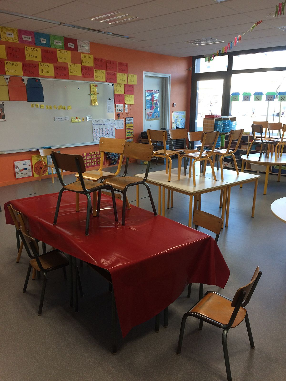 Moyenne Section — Wikipédia tout Moyen Section Maternelle Exercice