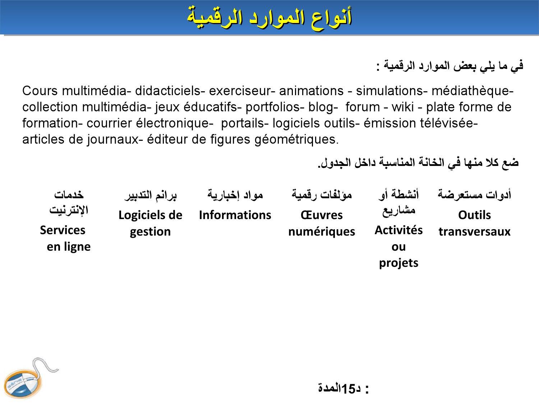 Ms Atelier 1Arabisé By Ahmed Bénchir - Issuu tout Logiciel Éducatif En Ligne