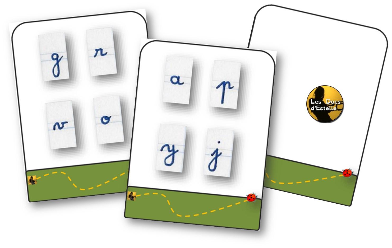Ms, Gs, Cp, Aide E - Apprentissage Des Lettres De L'alphabet avec Jeux Apprentissage Maternelle