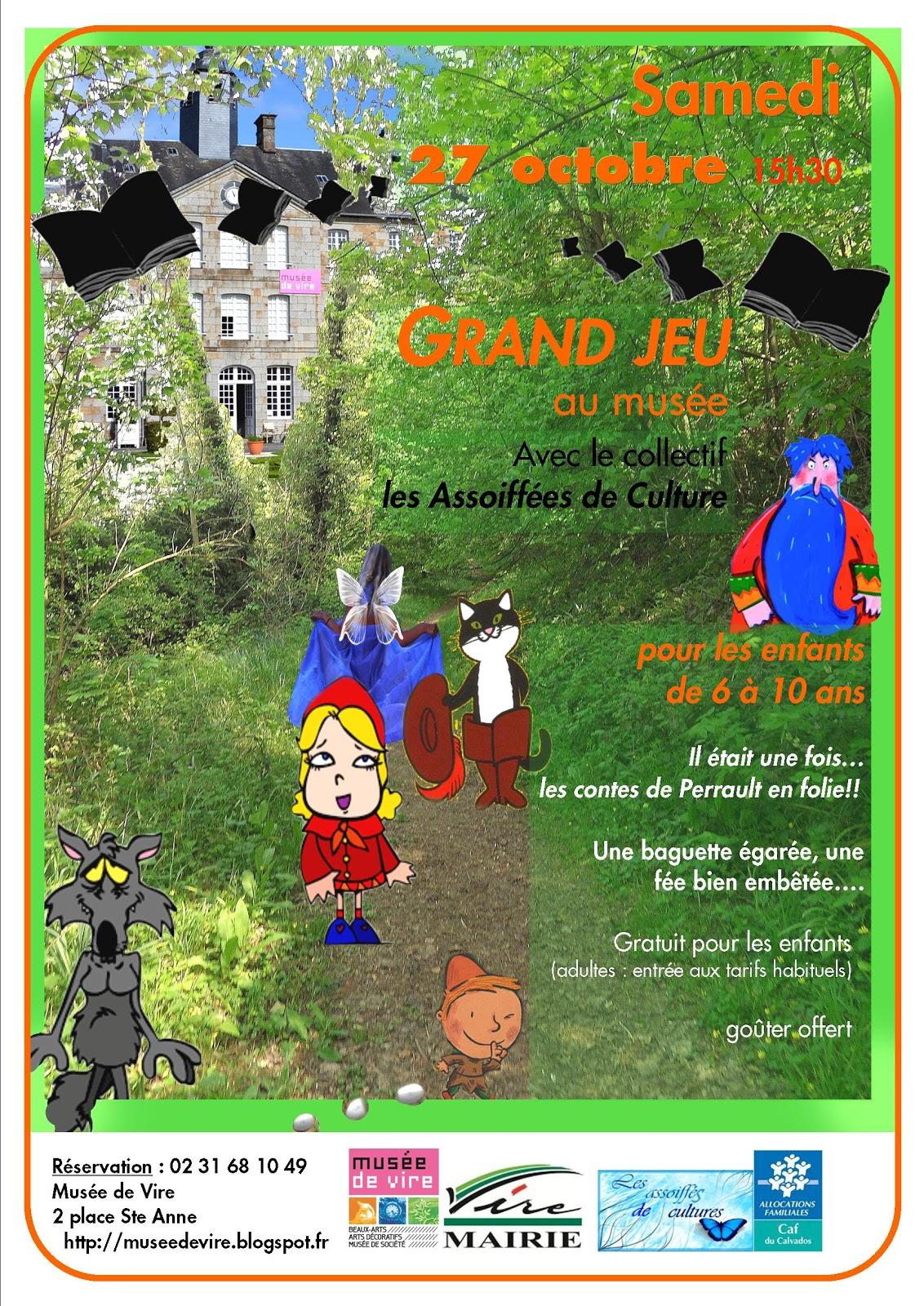 Musée De Vire Normandie: Grand Jeu Gratuit Pour Les Enfants serapportantà Jeux Gratuits Pour Enfants De 3 Ans