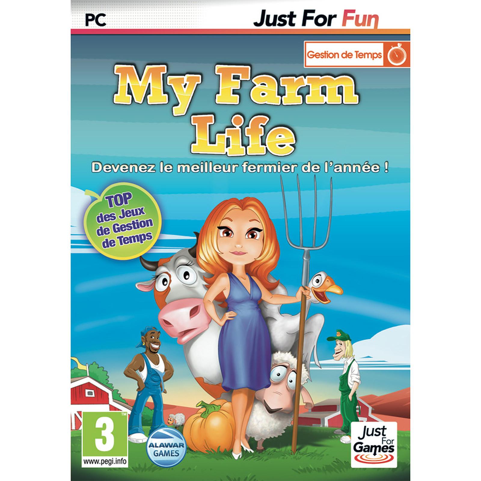 My Farm Life (Pc) - Jeux Pc Just For Games Sur Ldlc serapportantà Jeu Pc Adibou