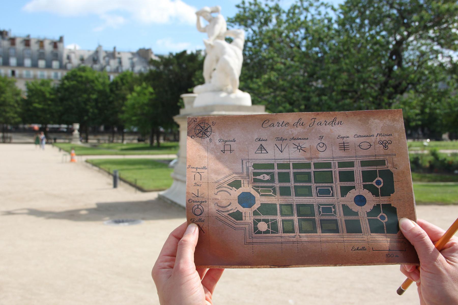 Mystères Aux Tuileries : Le Jeu D'aventure En Plein Air Et intérieur Plein De Jeux Gratuits