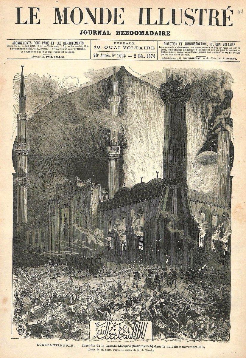 "N.k.a. On Twitter: ""9 Kasım 1876 Gecesi Süleymaniye Camii concernant Numéro Des Départements"
