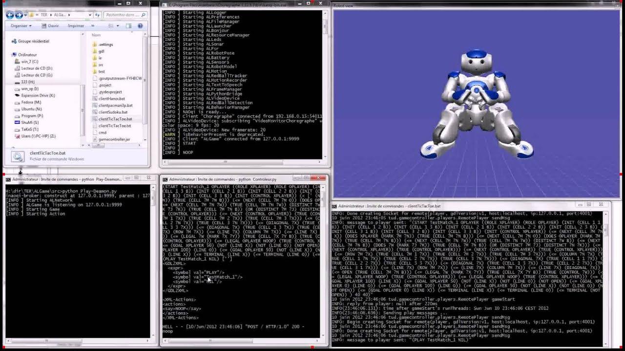 Nao & Ggp + Gdl : Rggp - Robotics General Game Playing - avec Sudoku A Imprimer