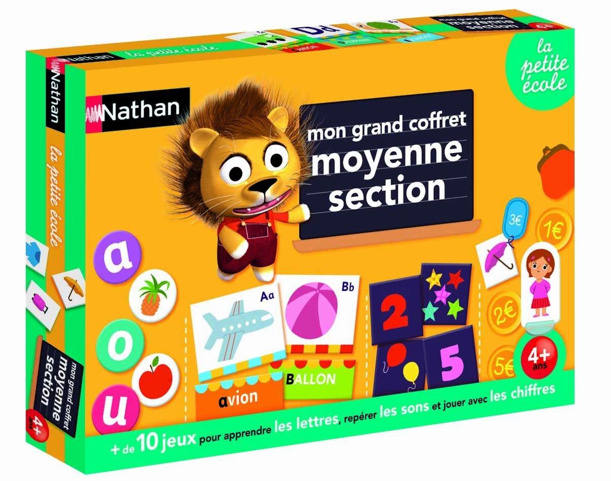 Nathan - Mon Coffret De La Moyenne Section intérieur Jeux Pour Petite Section