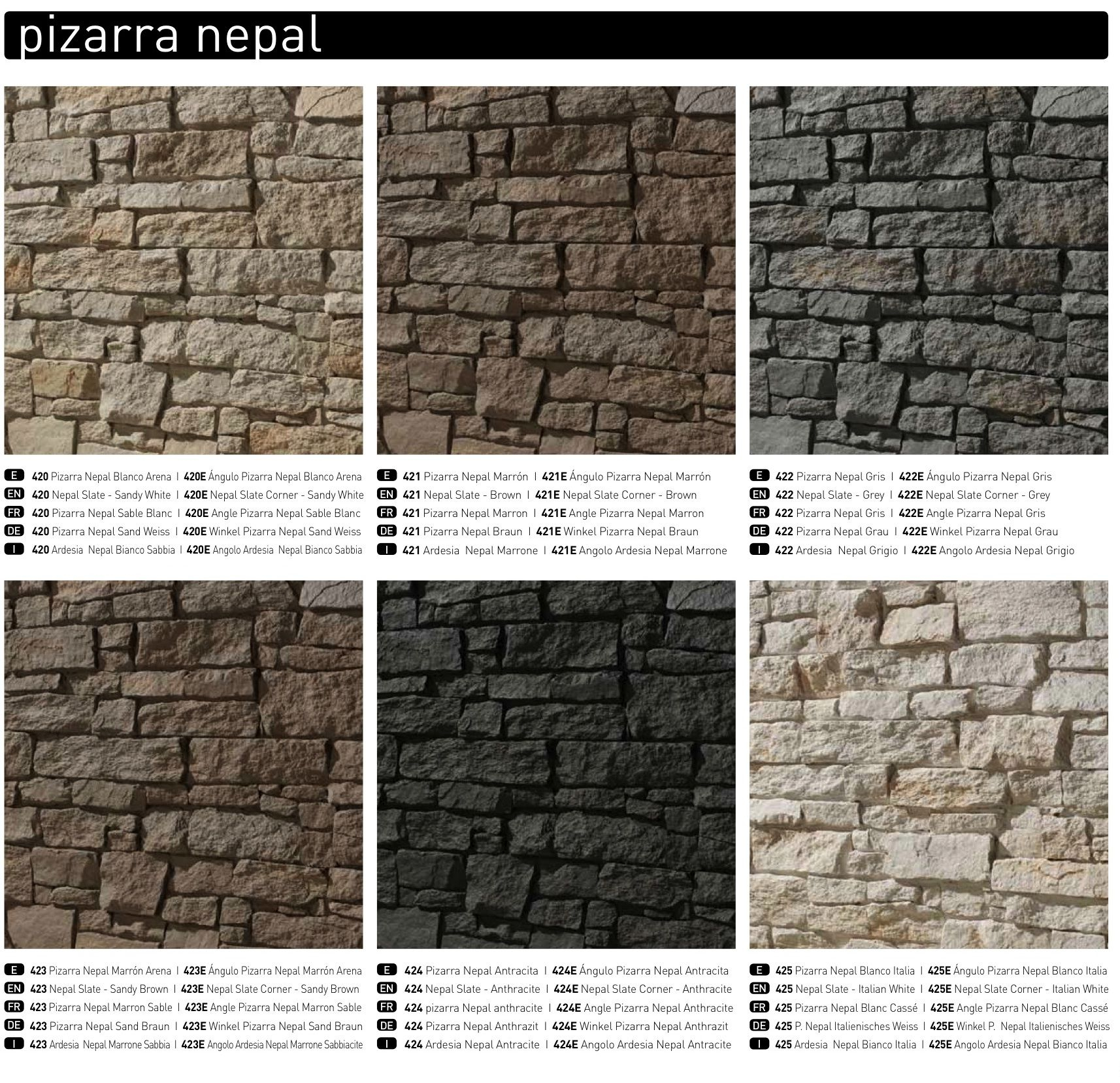 New' Dreamwall: Andes Slate In Italian White | Faux Brick tout Casse Brick