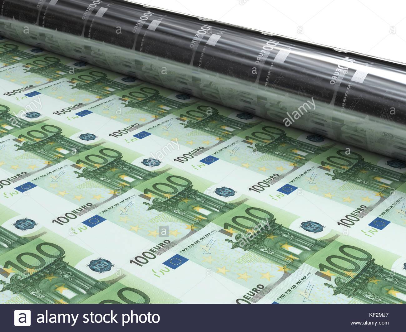 New Euro Banknotes Photos & New Euro Banknotes Images - Alamy intérieur Billet De 5 Euros À Imprimer