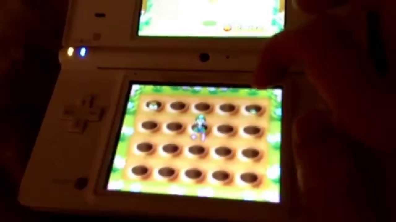 """New Super Mario Bros Ds Mini Jeu """"tape Taupe"""" - pour Jeux De Taupe"""