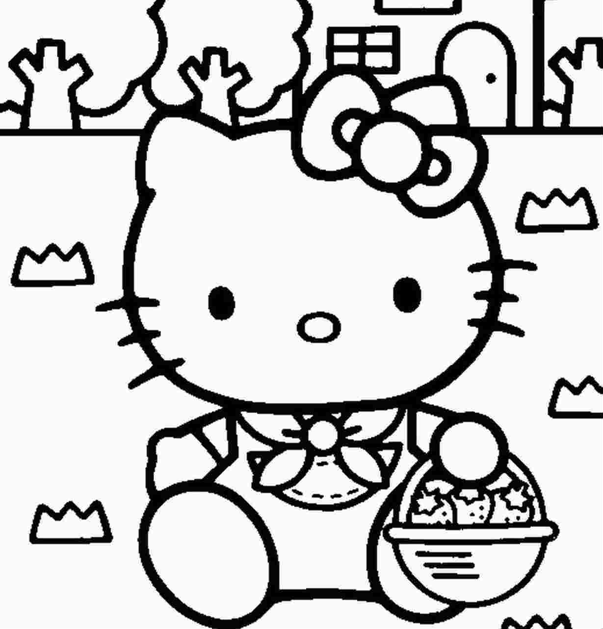News And Entertainment: Coloriage (Jan 05 2013 21:18:05) pour Hello Kitty À Dessiner