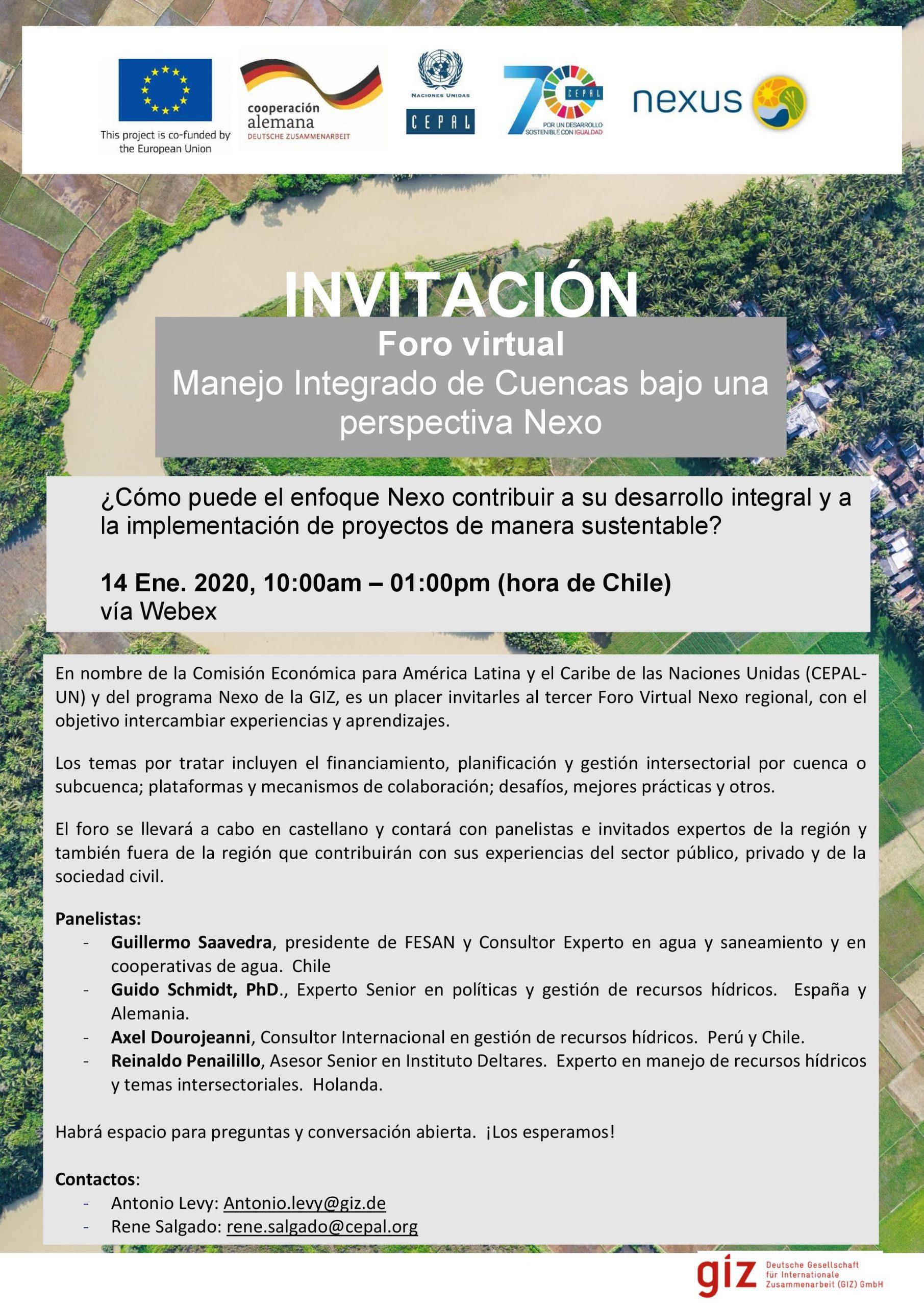 Nexus Blog // Outcomes Of The Third Nexus Latin America tout Nombre De Region