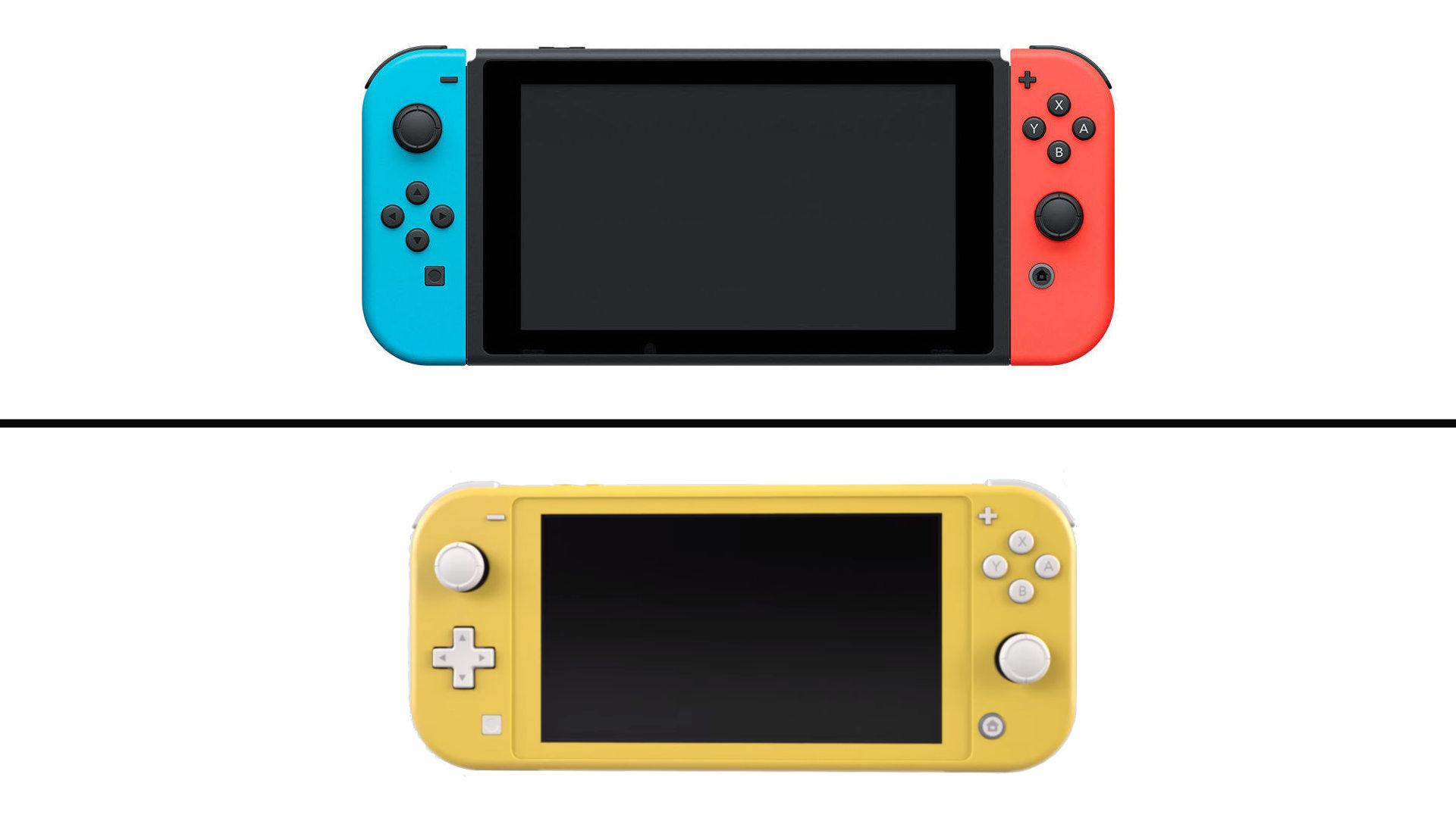 Nintendo Switch Versus Switch Lite : Quelles Différences à Jeu Des Différences En Ligne