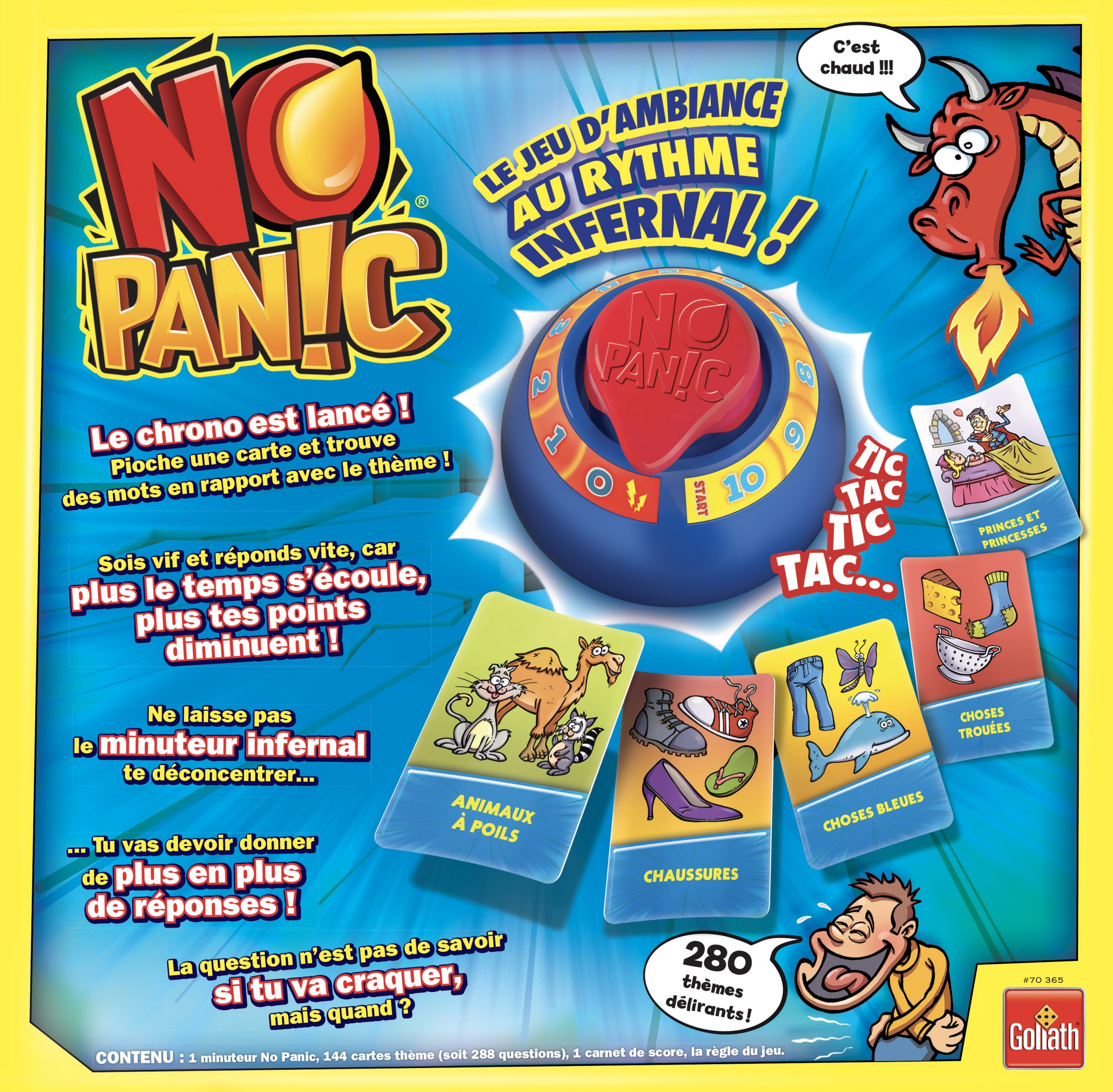 No Panic - Goliath France :goliath France concernant Jeu Carte De France