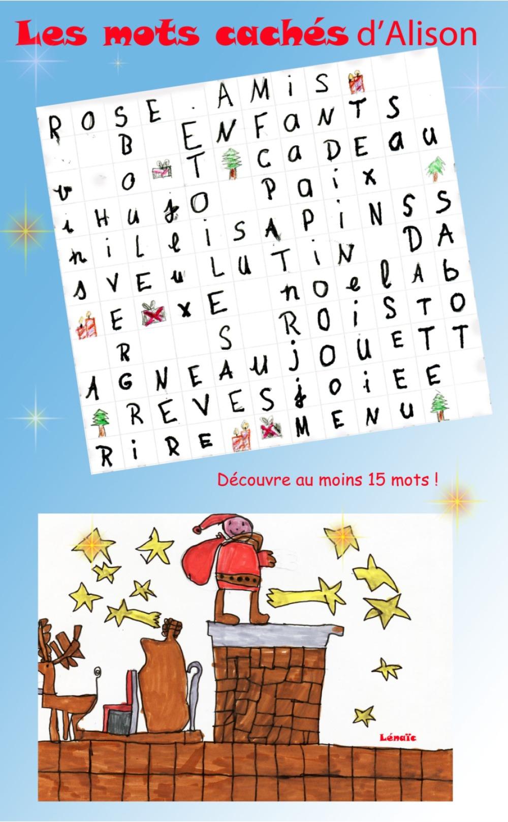 Noël : 9 Fiches-Jeux Indiv.à Imprimer. Série C | Bdrp concernant Rebus A Imprimer Gratuitement