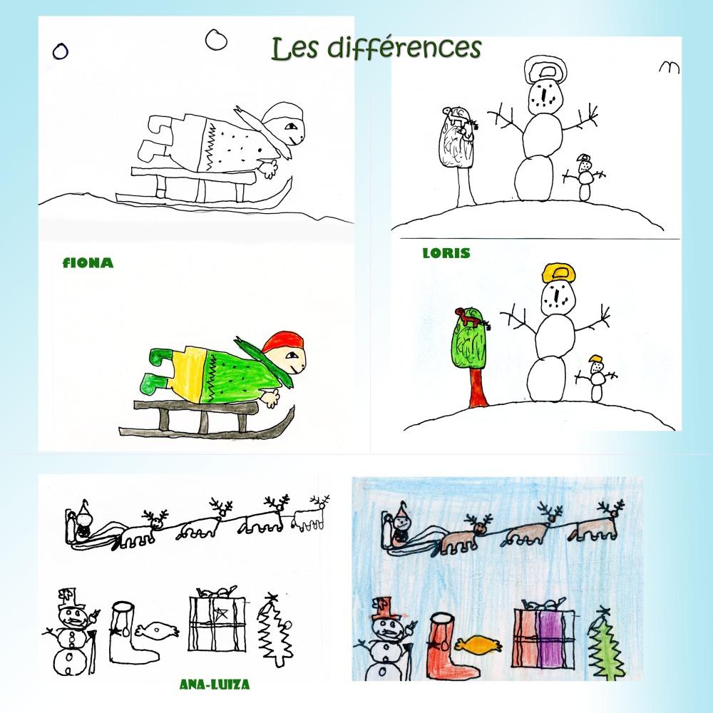 Noël : 9 Fiches-Jeux Indiv.à Imprimer. Série C | Bdrp serapportantà Rébus À Imprimer