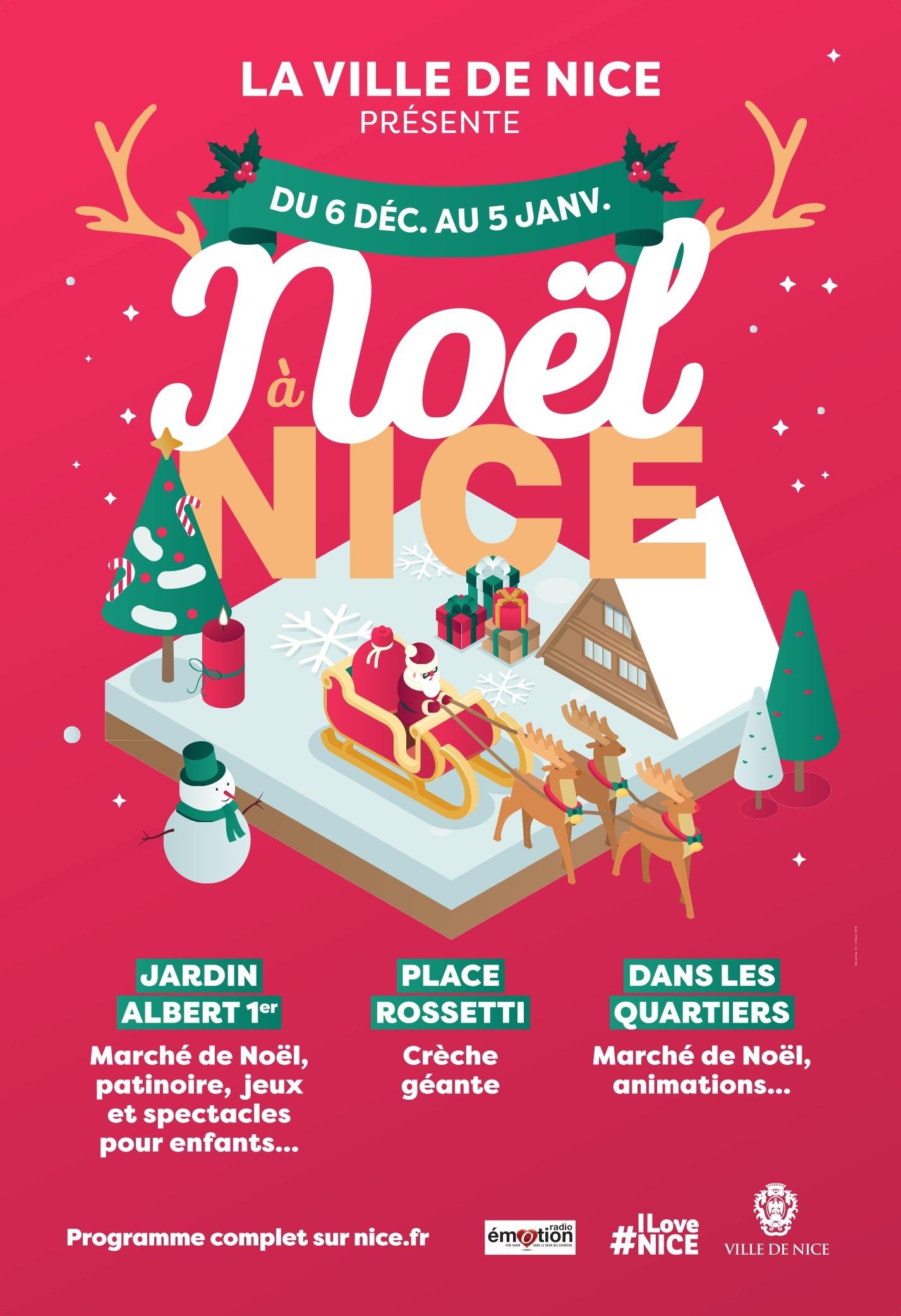 Noël À Nice Du 06 Décembre 2019 Au 05 Janvier 2020 encequiconcerne Boite De Noel A Imprimer