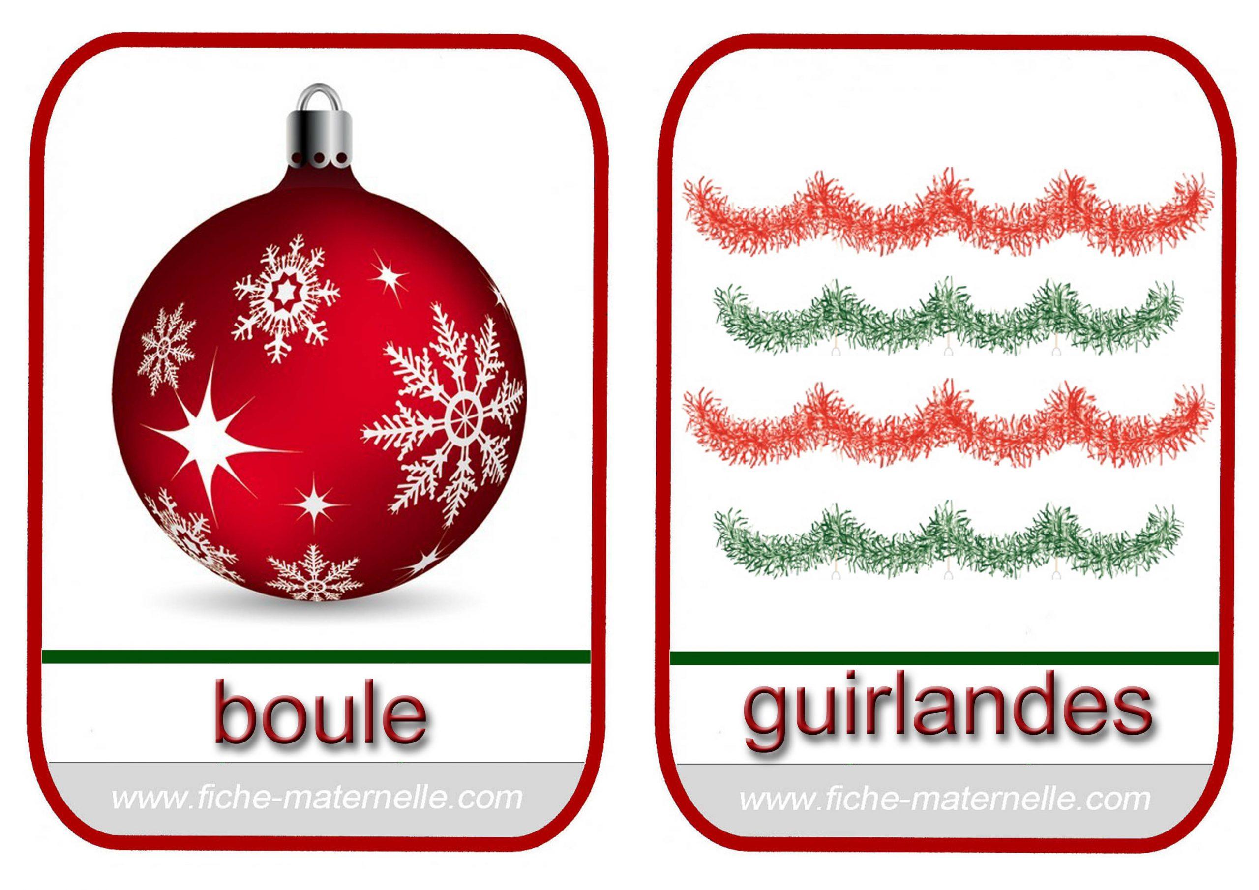 Noël En Maternelle concernant Imagier Noel Maternelle