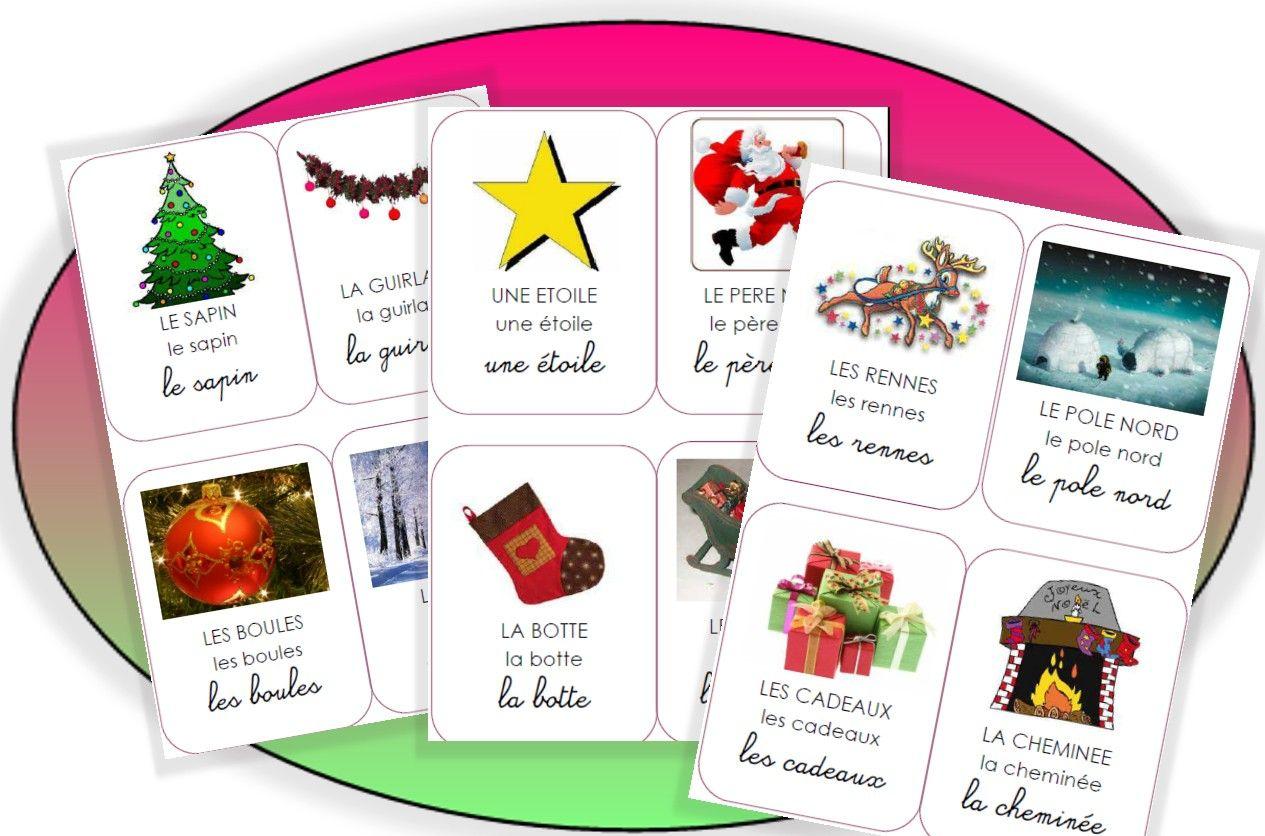 Noël | Imagier Noël Maternelle, Vocabulaire De Noel Et dedans Imagier Noel Maternelle