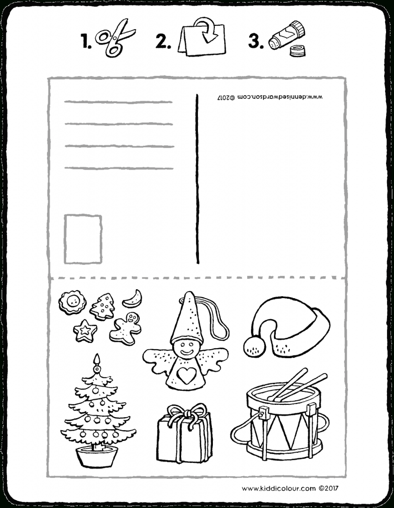 Noël Kleurprenten - Page 2 Sur 6 - Kiddicoloriage intérieur Coloriage Pantin
