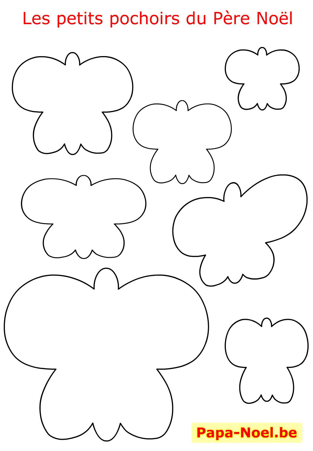 Noel Pochoir De Noel Papillon Pochoirs À Imprimer Gratuit avec Découpage Collage Maternelle À Imprimer