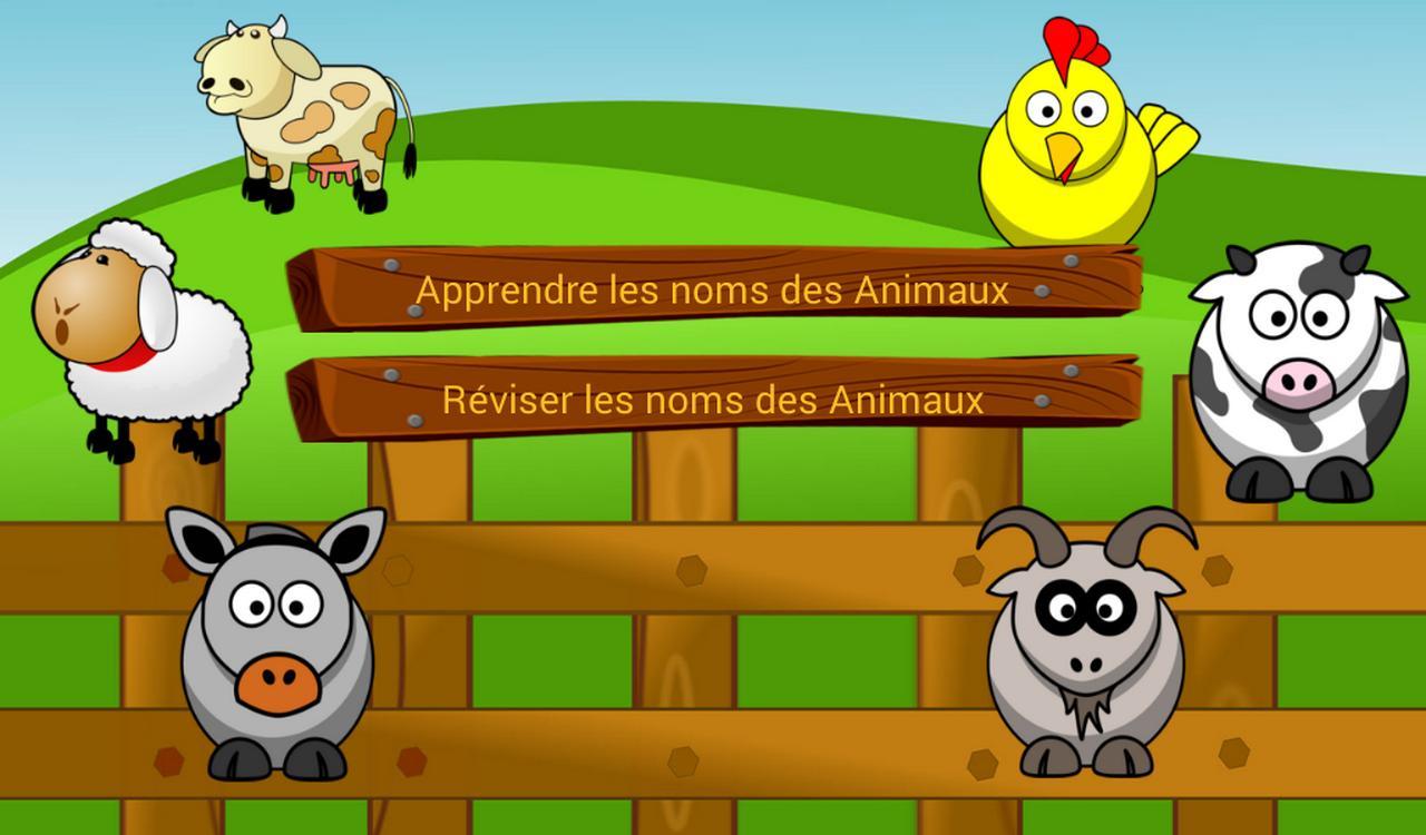 Noms Des Animaux De La Ferme For Android - Apk Download dedans Apprendre Le Nom Des Animaux