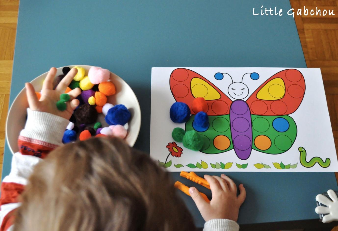 Nos Activités Préférées D'inspiration Montessori Pour Les 2 intérieur Activité A Imprimer 2 3 Ans