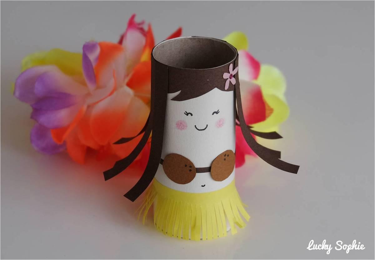 Nos Bricolages En Rouleau De Papier Wc ! - Lucky Sophie dedans Activité Manuelle En Papier