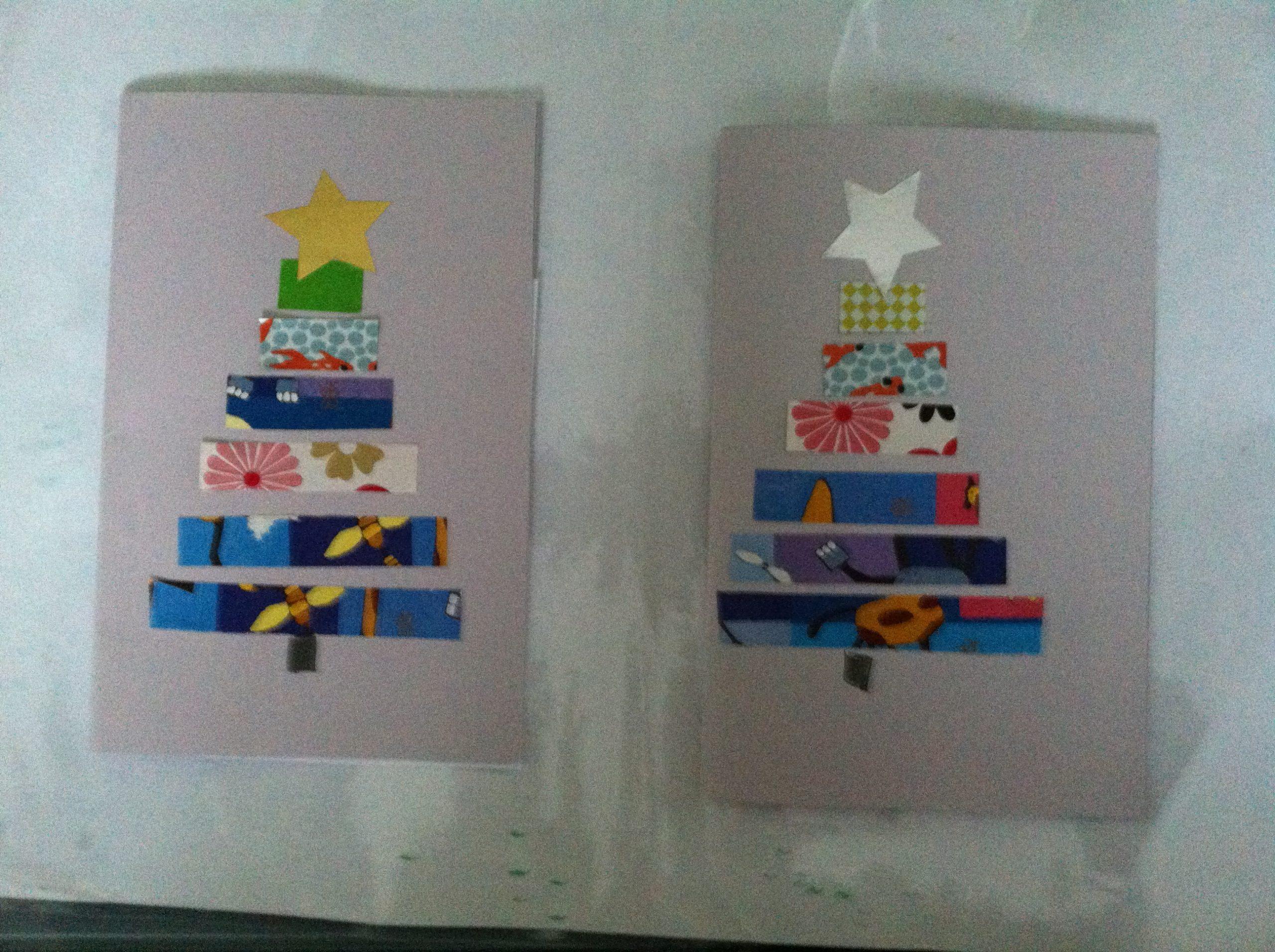 Nos Cartes De Voeux 2013-2014 Ms Et Gs - La Classe De Wjl intérieur Carte Noel Gs
