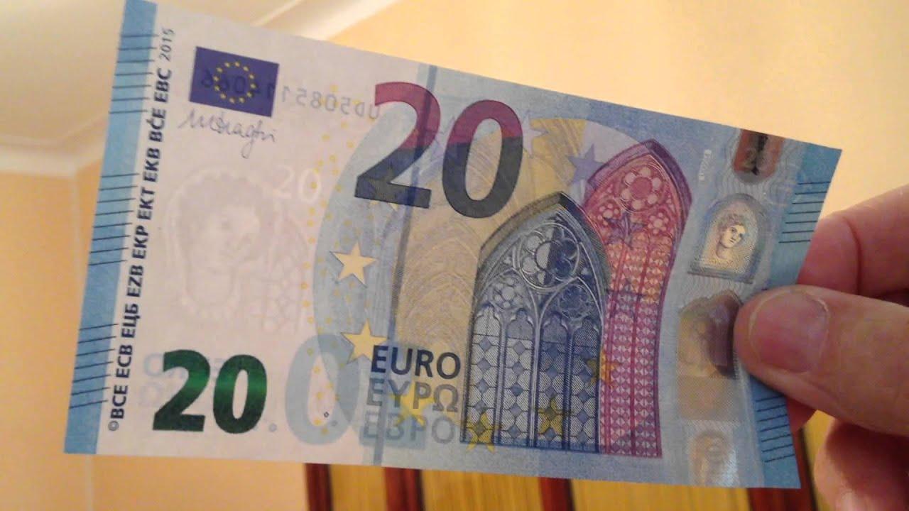 Nouveau Billet De 20 € : Ce Qui Distingue Le Vrai Du Faux intérieur Billet De 50 Euros À Imprimer