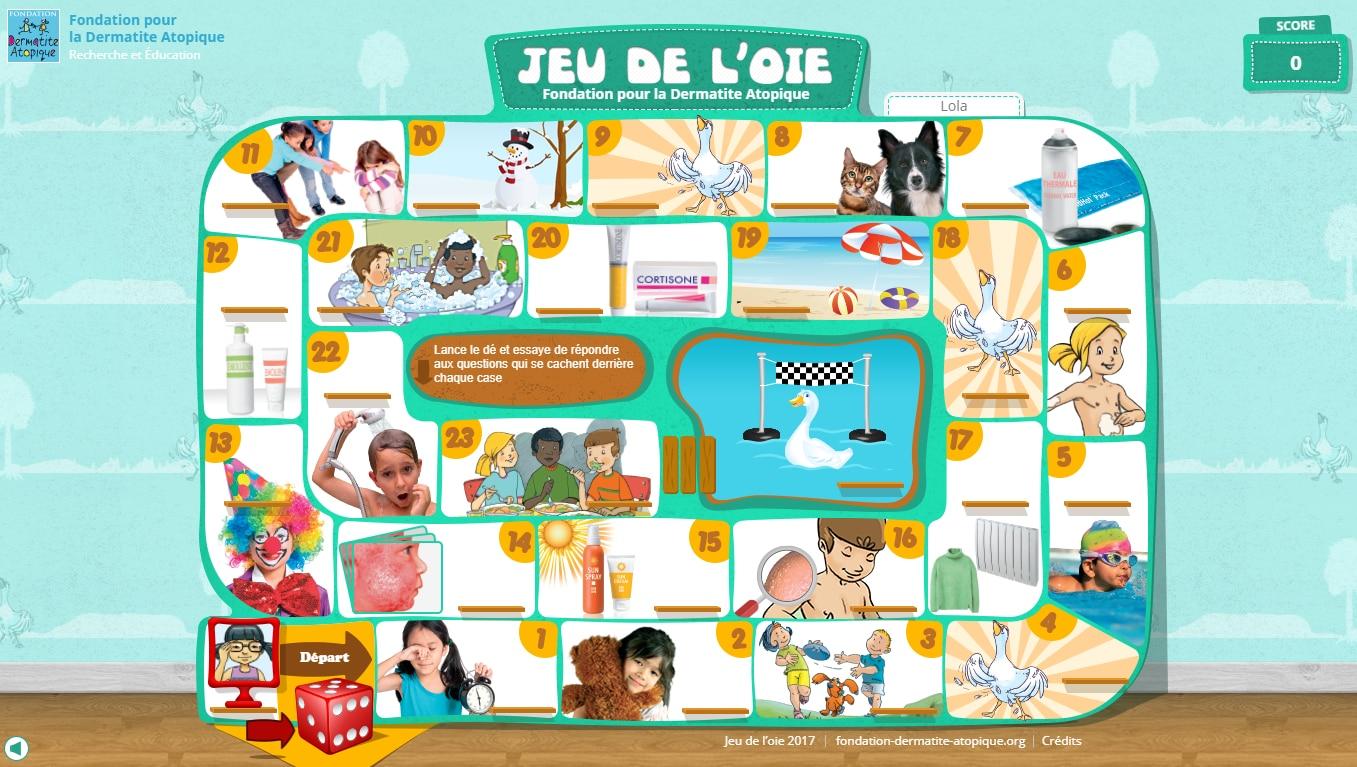 Nouveau : Un Espace Ludique Pour Les Enfants | Fondation Eczéma pour Jeux Ludique Pour Enfant