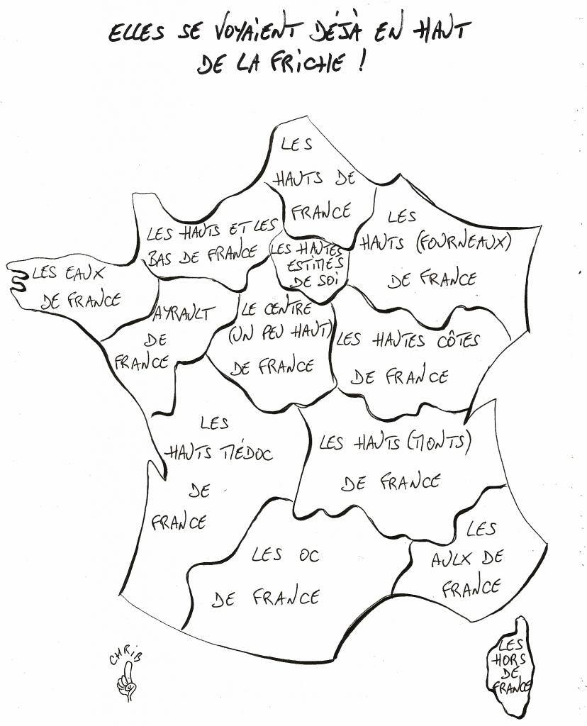 Nouveaux Noms Des Régions : Des Hauts Et Débat : Chribactu tout Nouvelles Régions De France 2016